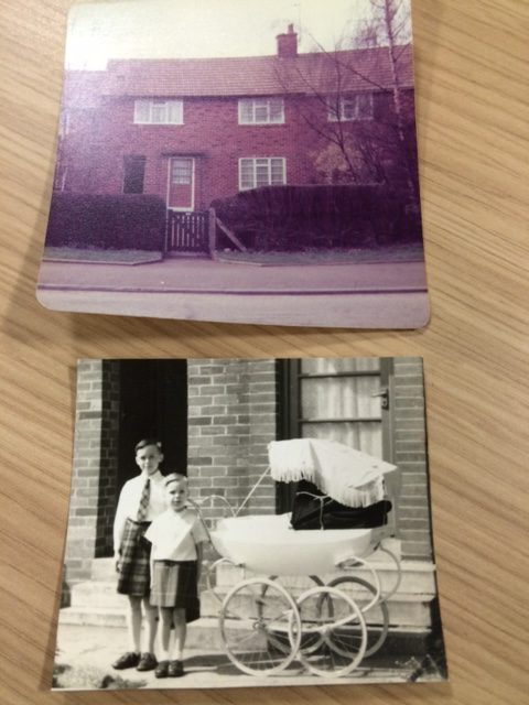 moving house in 1958